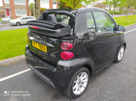 Smart Fortwo cabriolet 2013