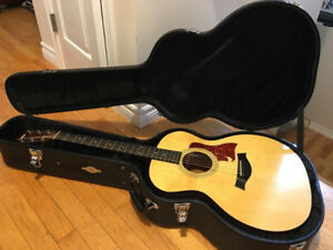 Taylor 214 Acoustic Guitar with hairline crack in back
