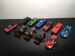 11 Diecast Model Cars. M2 Camero Fifty. AMG-GT. Hot Wheels