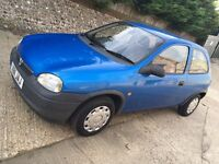 Vauxhall corsa envoy 1.0 12v cheap ideal first car px possible