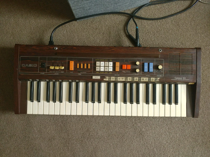 Casiotone 403 Analogue Keyboard | in Brighton, East Sussex | Gumtree