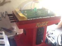 Super kixx football table arcade game