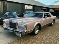 1977 Lincoln LS Continental MarkV 7.5 V8 Luxury Classic American Muscle Auto Cou