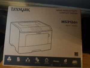 Lexmark Printer MS312dn - New in Box Never Opened