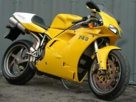 DUCATI 748 R SUPER SPORTS, MODERN CLASSIC MOTORCYCLE