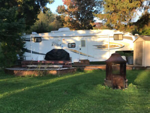 Fifth Wheel Eagles Super Lite 30.5 bhs