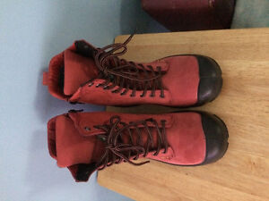 Pink Steeltoe leather working boots West Island Greater Montréal image 1