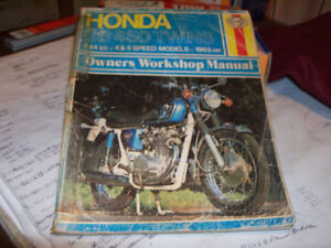 Honda CB450 1965 onwards Service Manual