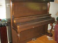 Willis and Company upright Grand Piano