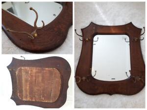 Miroir patère antique