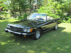 1981 Mercedes-Benz, SL380