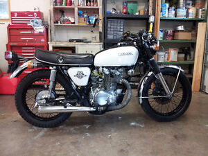 1970-74 CB450 parts CB 750 frame avail