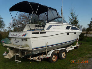 boat for trade for 28 feet plus trailer