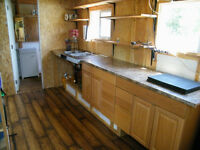 Tinyhouse on trailer off grid compost toilet 2 lofts