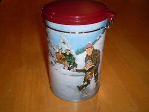 TIM HORTONS COFFEE CANISTERS