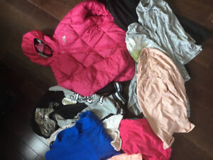 Girls clothing lot size 10-12