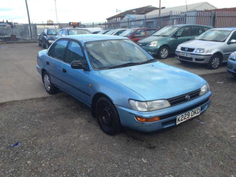 1993/k toyota corolla 1.6 gli long mot hpi clear | in bordesley