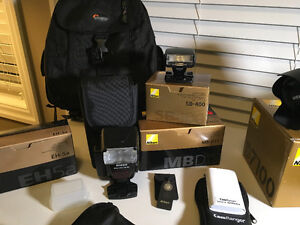 COMPLETE NIKON D7100 PACKAGE Cambridge Kitchener Area image 7