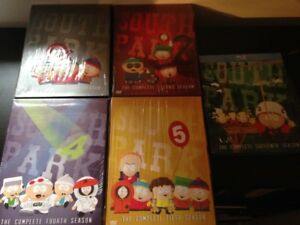 South Park Seasons 1,2,4,5,16 $40, OBO