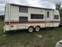 1984 Prowler bunk model trailer redone.