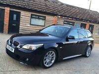 """BMW 2009"""" 530d tourer estate genuine Msport turbo diesel may px swap"""