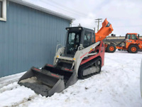 Snow removal labourer