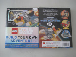 Brand New Sealed Lego Star Wars: Build Your Own Adventure Book