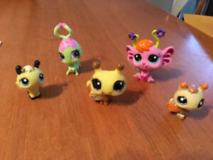 Littlest pet shop bees fairy and bug