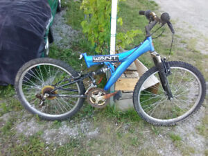 24 inch mountain bike with suspension