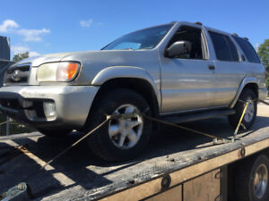 2002 nissan pathfinder parting out