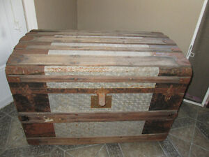 Vintage dome shaped Trunk