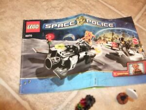 Lego Space Police with figurines