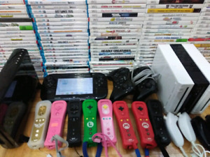 Massive selection of games controllers & consoles for WII / WI U