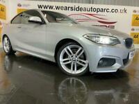 2014 BMW 2 Series 2.0 218D M SPORT 2d 141 BHP Auto Coupe Diesel Automatic