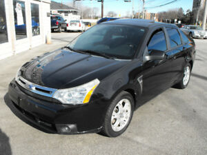 2008 FOCUS SES LOW KMS LEATHER-SUNROOF  AUTO  A MUST SEE CAR