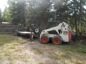205 Bobcat come with Trailer