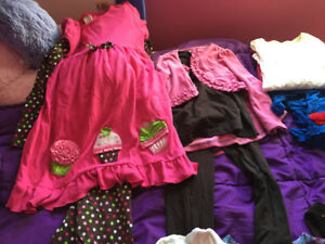 Girls fall/winter clothes size 6/7