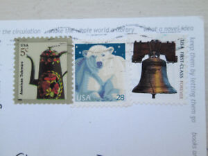 60 Used Post Cards with Stamps.
