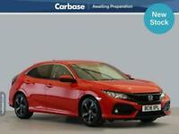 2018 Honda Civic 1.0 VTEC Turbo 126 SR 5dr HATCHBACK Petrol Manual