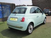 2014 Fiat 500 1.2 Lounge (s/s) 3dr
