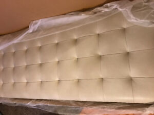 King head boards beige