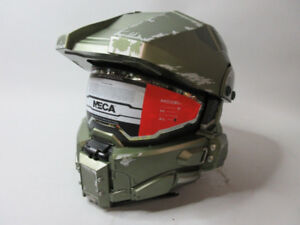 NECA Master Chief Replica (HALO) DOT Certified Motorcycle Helmet