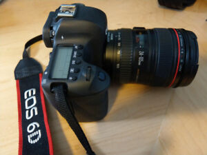 Like New: Canon EOS 6D with 24-105mm f/4L Lens + EXTRA