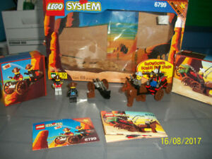 1997 LEGO SET - SHOWDOWN CANYON