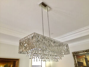 Buy 2 matching chandeliers & light or buy 1!