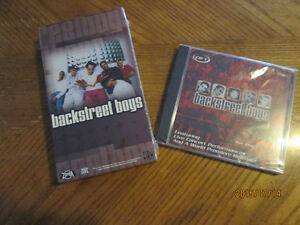 Backstreet Boys VHS and CD Still wrapped never opened Kitchener / Waterloo Kitchener Area image 1