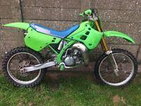 1991 kx 125