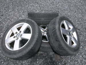VW Rims and Tires for sale