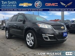 2016 Chevrolet Traverse LT   - Certified - BLUETOOTH -  LOW KMS