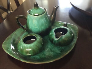 Blue Mountain Pottery Tea set